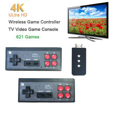 USB Wireless Handheld TV Video Game Console Built-in 621 Classic Games 8 Bit Mini Video Console HDMI