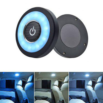Car Interior LED Roof Reading Light USB Charging Magnetic Vehicle Ceiling Lamp