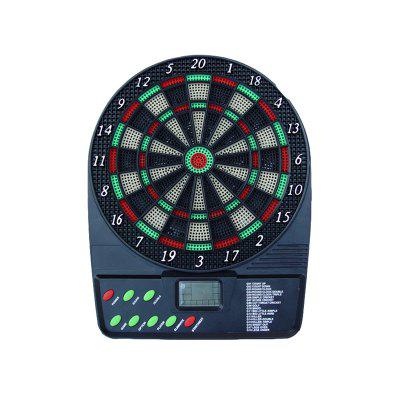 Electronic Dartboard Battery Automatic Score Dart Plate Scoring Board with HD LCD Display