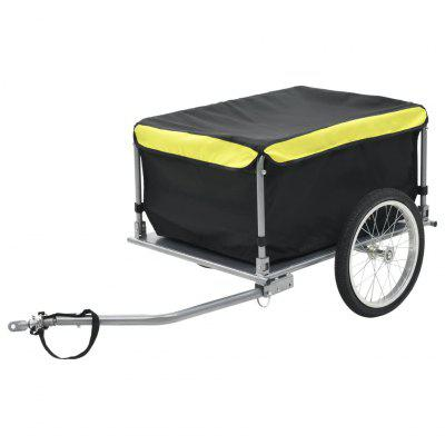 Bicycle Carrier Black and Yellow 65 kg