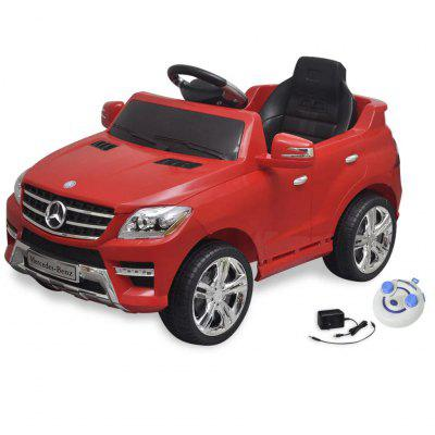 Electric car Ride-on Mercedes Benz ML350 White 6V with remote control