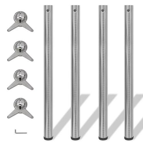 4 Height Adjustable Table Legs For Coffee Table Table Chair Sale
