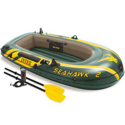 Intex Seahawk 2 Set Inflatable Boat with Oars and Pump