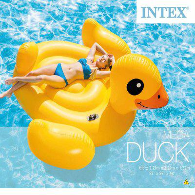 INTEX gonfiabile piscina galleggiante Mega Yellow Duck Island