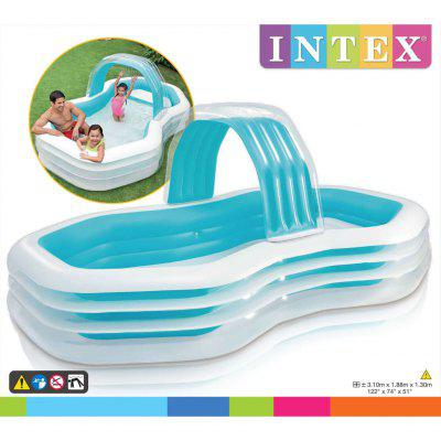 INTEX  Inflatable Cabana Swimming Centre 310x188x130 cm