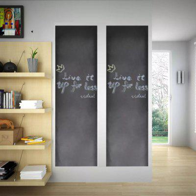 Wall Sticker Blackboard 2 pc Send chalk