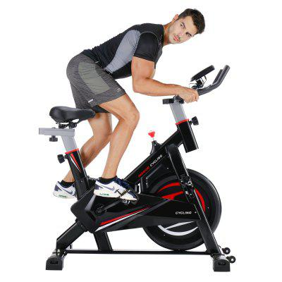 Gym fitness indoor cycling trainer quiet stationary spinning bike with Ipad holder Image