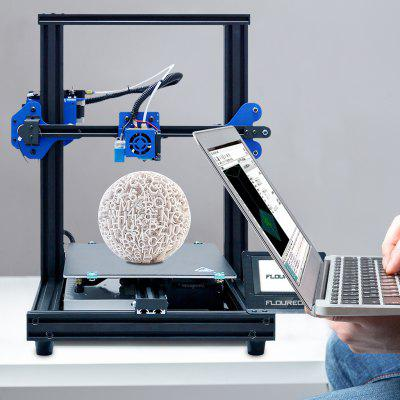 Auto Levelling FDM 3D Printer Operate Through LCD Touchscreen Interface