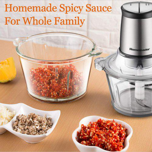 Electric Food Chopper 8 Cup Food Processor by Homeleader