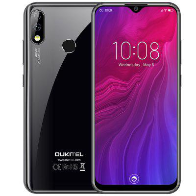 OUKITEL Y4800 6.3 inch Full Screen Helio P70 Octa Core 6GB RAM 128GB ROM 48.0MP + 5.0MP Rear Camera 4000mAh Battery Black EU Image