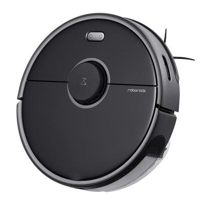 Roborock S5 Max Laser Navigation Robot Vacuum Cleaner with Large Capacity Water Tank Off-limit Area Setting AI Recharge EU Plug Image