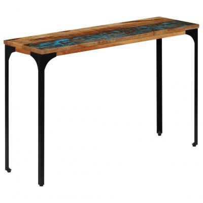 Gearbest / VidaXL Console Table 12x35x76cm Solid Reclaimed Wood