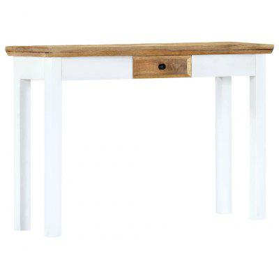 Gearbest / VidaXL Console Table  and Brown 11x35x75cm Solid Mango Wood