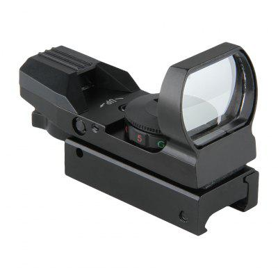 Red and Green Illuminated Dot Gun Sight Scope with 20mm Rail