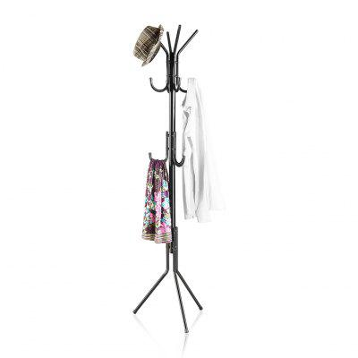 LANGRIA 3 Tier Metal Coat Rack with Hook
