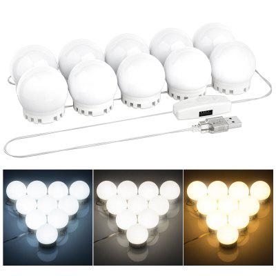 DIY Vanity Mirror Lights Bulbs Kit for Lighted Makeup Dressing Table Mirror LED Lighting Fixture