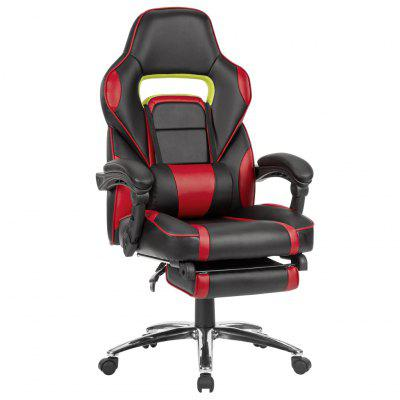 LANGRIA Ergonomic PU Leather Racing Style Computer Gaming Office Chair - Ship from UK