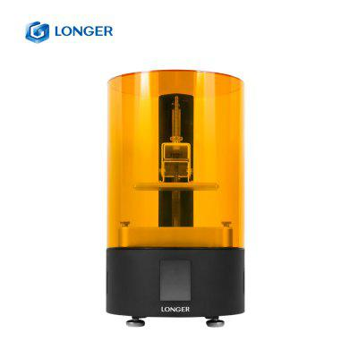 Longer High Resolution LCD Printer Orange 120 SLA Printing UV 3D Printer with wifi offline printing