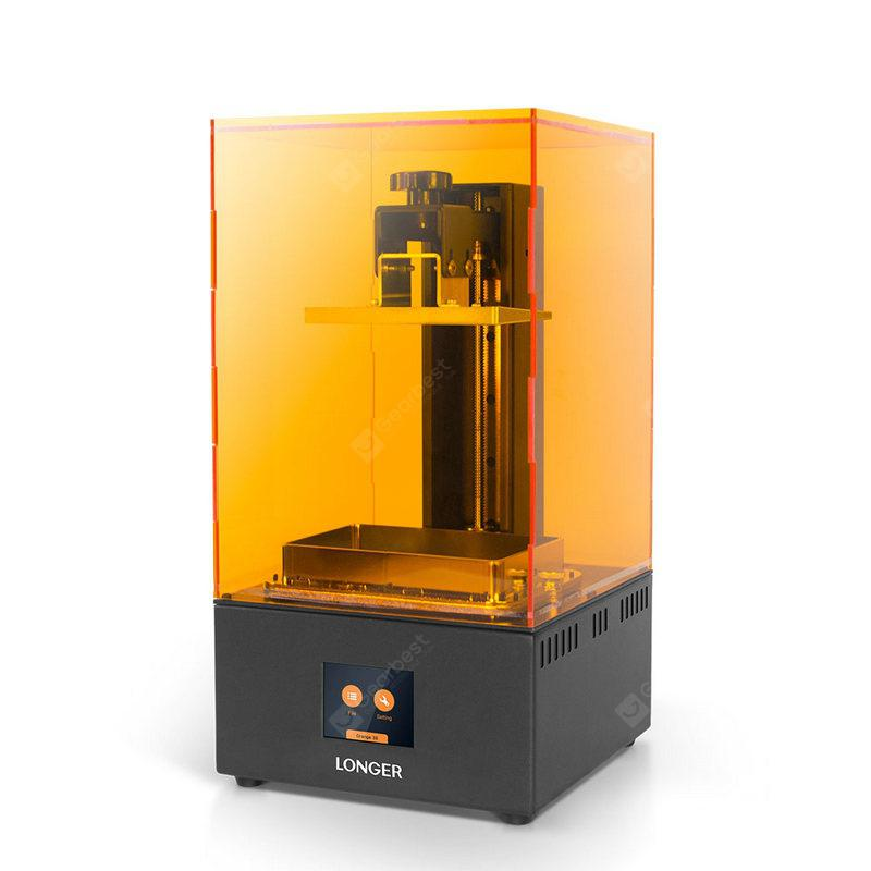 LONGER Orange30 3D Printer High Precision SLA 3D Printer with 2K LCD Screen Parallel UV LED Printer