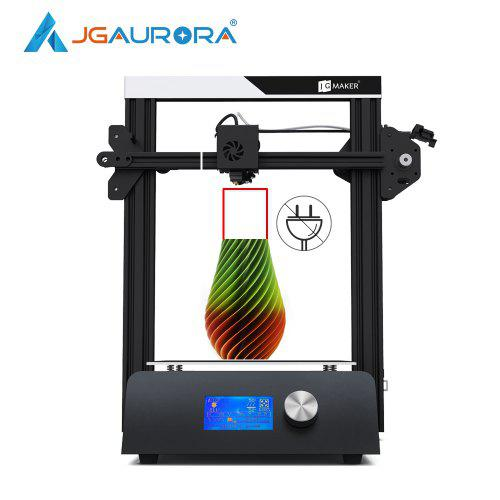 JGAURORA JGMAKER Magic 3D Printer Aluminium Frame Diy Kit Large Build Size 220x220x250mm 3D Drucker