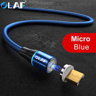 OLAF 3A  Micro USB Magnetic Fast Charging Cable For Samsung Xiaomi Huawei