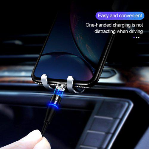 OLAF 3A  Magnetic Fast Charging Cable For Iphone X XR XS MAX 8 8P 7