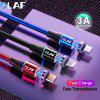 OLAF 3A Type C Magnetic Fast Charging Cable For Samsung Xiaomi Huawei