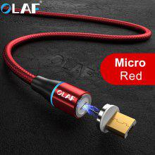Gearbest OLAF 3A Micro USB Magnetic Fast Charging Cable
