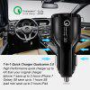 OLAF Chargeur USB pour voiture Charge rapide 3.0 2.0 Chargeur de téléphone portable Chargeur de voiture rapide USB 2 ports