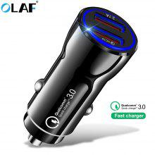Gearbest OLAF Car Charger Quick Charge 3.0 USB Fast Charger