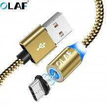 Gearbest OLAF LED Type C Micro USB Fast Charge