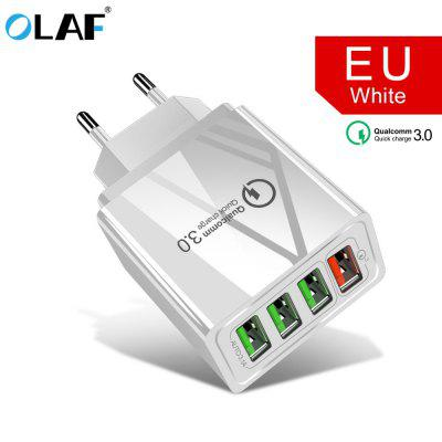 OLAF Quick Charge 3.0 USB Charger QC3.0 QC Fast Charging Mobile Phone Charger for iPhone Samsung