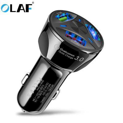 OLAF Car Charger Quick Charging 3.0 USB-Schnellladegerät für Xiaomi iPhone Huawei Samsung