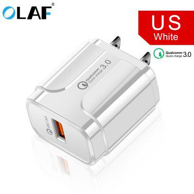 OLAF 3A Fast Charging Mobile Phone USB Charger Wall Stable Charger USB Adapter