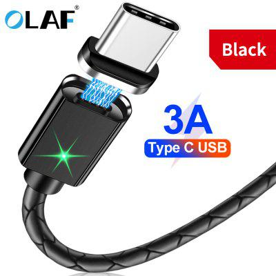 OLAF Magnetic Cable Fast Charging Magnet Charger Cable  Micro USB Type C For Iphone