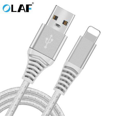 OLAF 2.4A Fast Charging USB Cable TPE Micro USB Type C For Xiaomi Huawei Samsung Iphone
