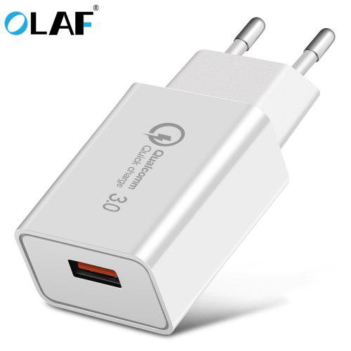 OLAF 1 Port USB QC3.0 Fast Charging Unicersal Phone Charger For Andriod IOS Type C USB Cable
