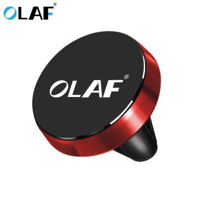 OLAF Car Phone Holder Magnetic Holder Air Vent Stand GPS For iPhone Samsung Huawei Universal