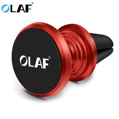 OLAF Magnetic Car Phone Holder 360 Rotation Bracket Screw Thread Stand For iPhone Samsung Huawei