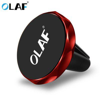 OLAF Universal Magnetic Car Phone Holder Phone Air Vent Stand For iPhone Samsung S9 Xiaomi Air Vent