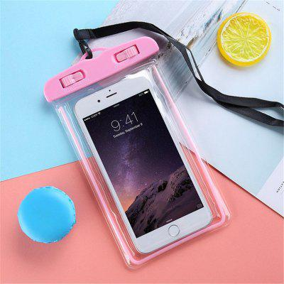 OLAF Luminous Waterproof Smartphone Case Bag for iPhone X XS 7 8 6s Plus Samsung Swimming Pouch bag