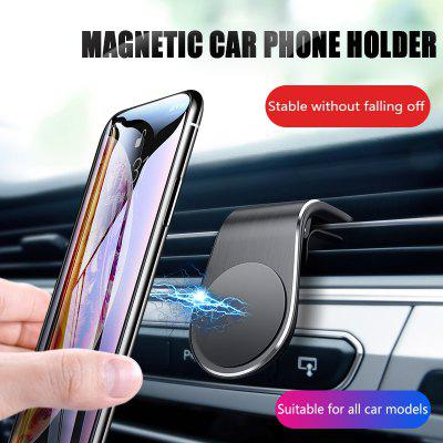 OLAF Universal Air Vent Magnet Car Phone Holder Stand for Iphone Huawei Samsung Mobile