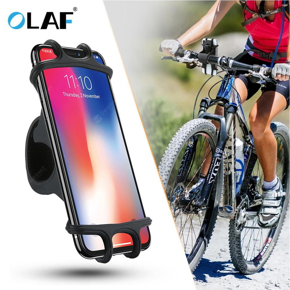 OLAF Universal Bicycle Silicone Phone Holder...