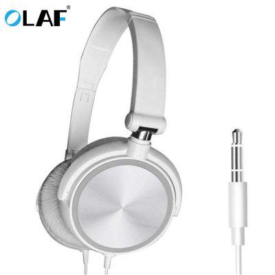 OLAF Headset Earphone Foldable Wired Microphone Mobile Phone Bluetooth for Iphone MPS Game