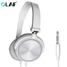Gearbest OLAF Headset Earphone Foldable Wired Microphone Mobile Phone Bluetooth