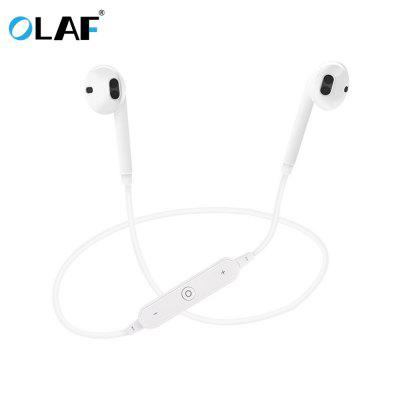 Фото - OLAF Mini Wireless Bluetooth Earphone in Ear Sport with Mic Handsfree Earbud for Mobile Phones behind the head sport bluetooth wireless headphone