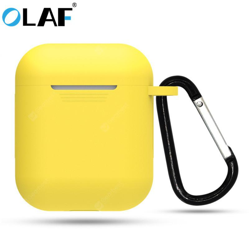 Olaf 1pcs Tpu Silicone Bluetooth Wireless Earphone Case For Airpods Protective Cover For Apple Sale Price Reviews Gearbest