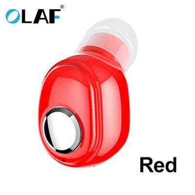 OLAF Sporty Mini Wireless Bluetooth Earphone Good Voice in Ear for Iphone Xiaomi 6D Sound