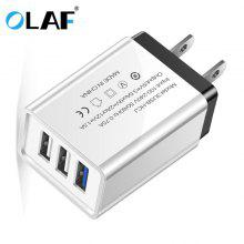 Gearbest OLAF Quick Charge 3.0 USB Multi-outlet Mobile Phone Charger