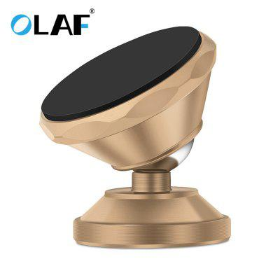 OLAF Universal Magnetic Car Phone Holder 360 Rotation Bracket Phone Stand For iPhone Samsung Huawei